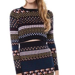 Nasty Gal Re:Named Crop Sweater